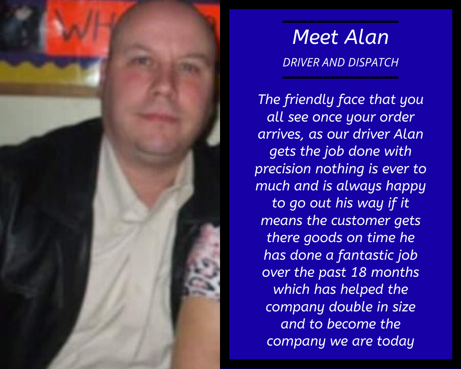 Alan Driver and dispatch Colt Materials