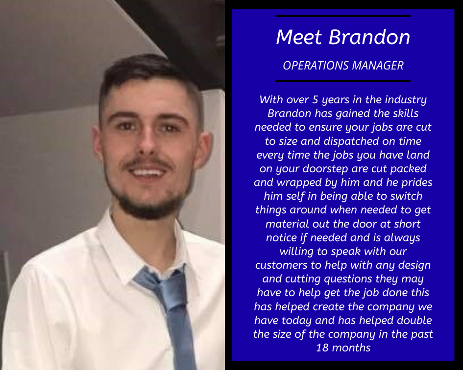 Brandon Colt Materials Operations Manager