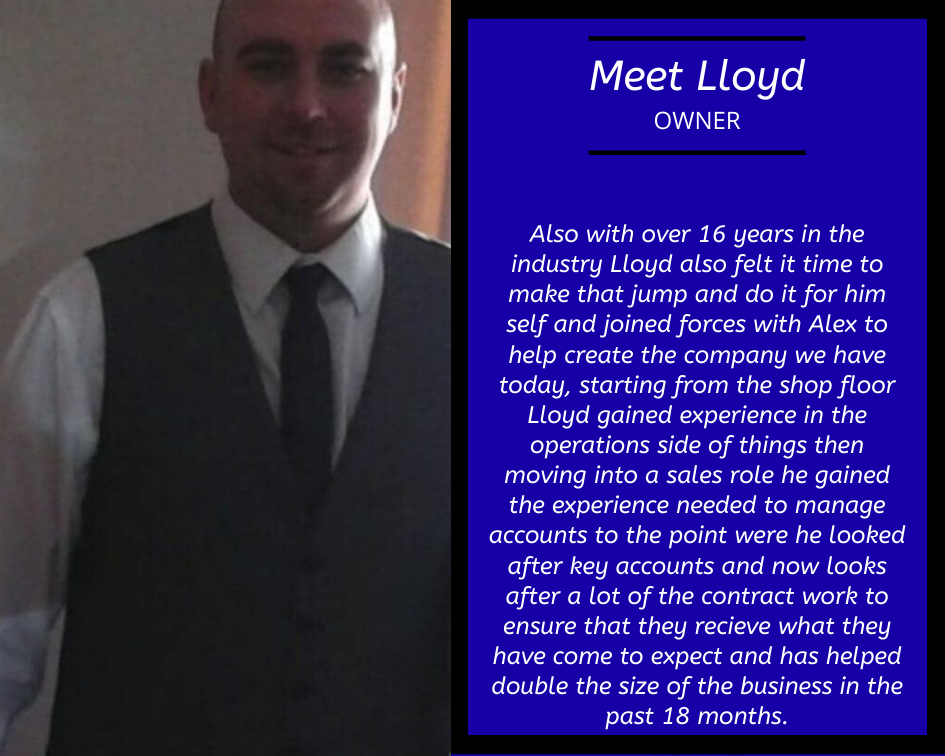 Lloyd Owner of Colt Materials